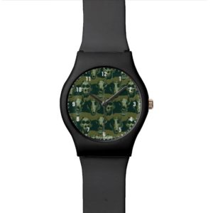 RAMPAGE | Skulls Pattern Watch