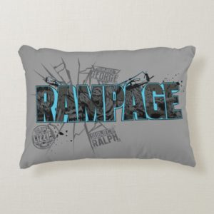 RAMPAGE | Subject Graphics Accent Pillow