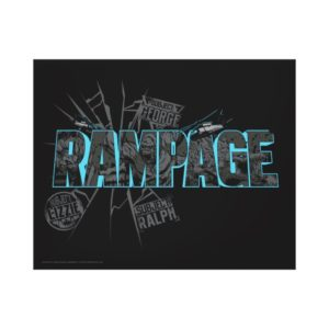 RAMPAGE | Subject Graphics Canvas Print
