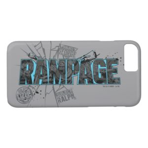 RAMPAGE | Subject Graphics Case-Mate iPhone Case