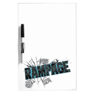 RAMPAGE | Subject Graphics Dry Erase Board
