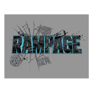 RAMPAGE | Subject Graphics Postcard