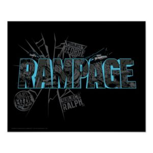 RAMPAGE | Subject Graphics Poster