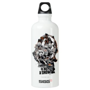RAMPAGE | Three is Not a Crowd Aluminum Water Bottle
