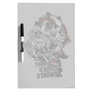 RAMPAGE   Three is Not a Crowd Dry Erase Board