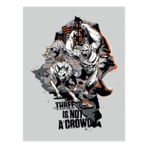 RAMPAGE   Three is Not a Crowd Postcard