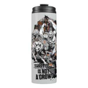 RAMPAGE | Three is Not a Crowd Thermal Tumbler