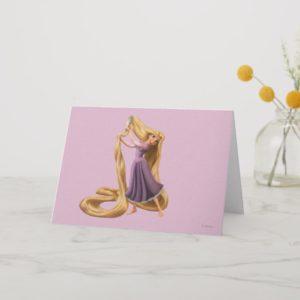 Rapunzel Brushing Hair 2 Card