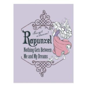 Rapunzel | I've Got a Dream! Postcard