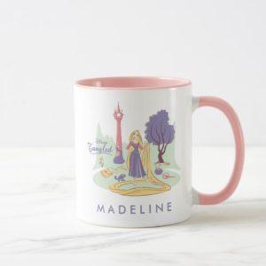 Rapunzel & Pascal in Pretty Pastels Mug