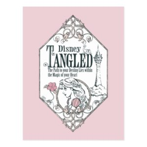 Rapunzel | Tangled - The Path to Your Destiny Postcard