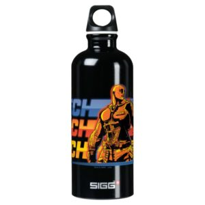 Ready Player One | Aech Graphic Aluminum Water Bottle