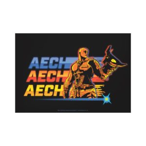 Ready Player One | Aech Graphic Canvas Print
