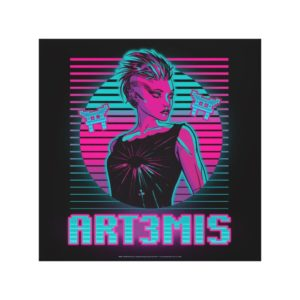 Ready Player One | Art3mis Graphic Canvas Print