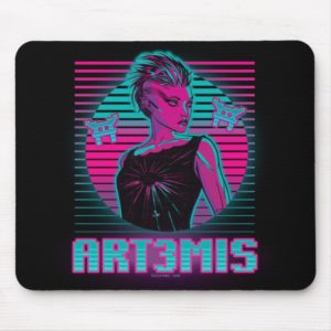 Ready Player One | Art3mis Graphic Mouse Pad