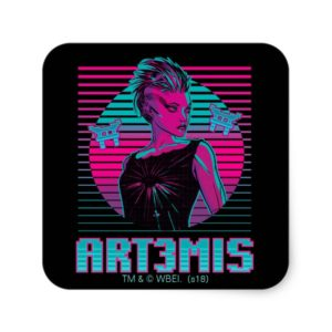 Ready Player One | Art3mis Graphic Square Sticker