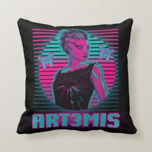 Ready Player One | Art3mis Graphic Throw Pillow