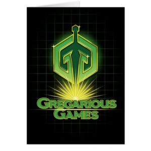 Ready Player One | Gregarious Games Logo