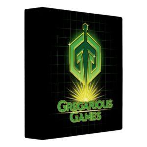Ready Player One | Gregarious Games Logo Binder