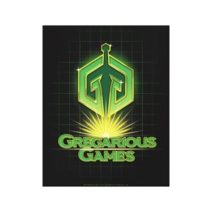 Ready Player One | Gregarious Games Logo Canvas Print
