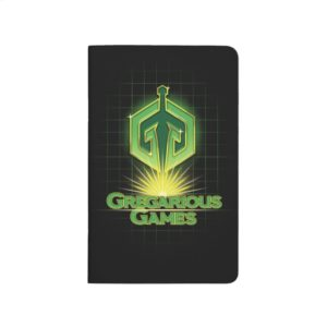Ready Player One | Gregarious Games Logo Journal