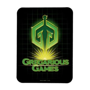 Ready Player One | Gregarious Games Logo Magnet