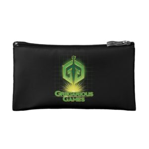 Ready Player One   Gregarious Games Logo Makeup Bag