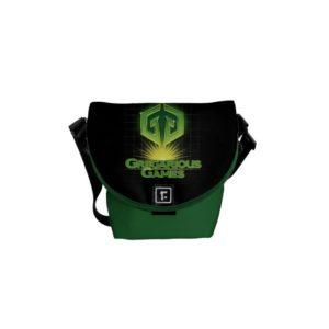 Ready Player One   Gregarious Games Logo Messenger Bag