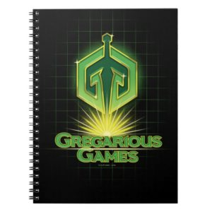 Ready Player One | Gregarious Games Logo Notebook