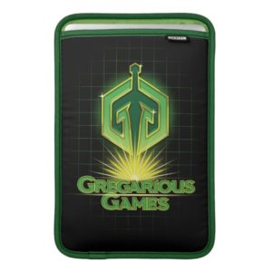 Ready Player One   Gregarious Games Logo Sleeve For MacBook Air