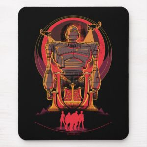 Ready Player One   High Five & Iron Giant Mouse Pad