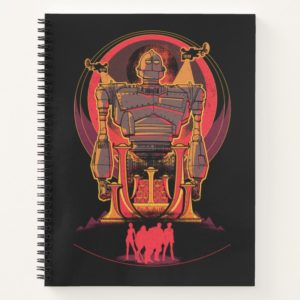 Ready Player One   High Five & Iron Giant Notebook
