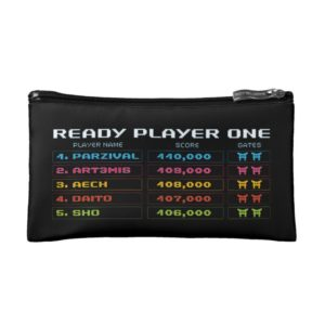 Ready Player One | High Score Leaderboard Cosmetic Bag