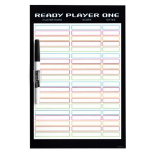Ready Player One | High Score Leaderboard Dry-Erase Board