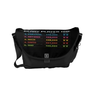 Ready Player One | High Score Leaderboard Small Messenger Bag