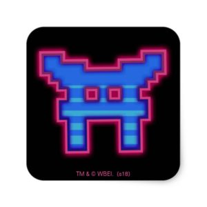 Ready Player One   High Score Leaderboard Square Sticker