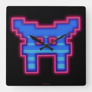 Ready Player One | High Score Leaderboard Square Wall Clock