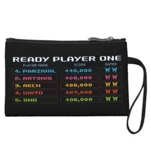 Ready Player One | High Score Leaderboard Wristlet Wallet