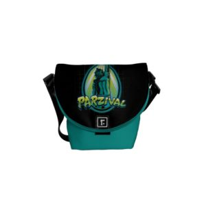 Ready Player One   Parzival With Key Courier Bag