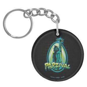 Ready Player One   Parzival With Key Keychain