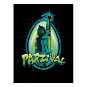Ready Player One   Parzival With Key Postcard