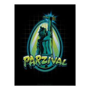 Ready Player One | Parzival With Key Poster