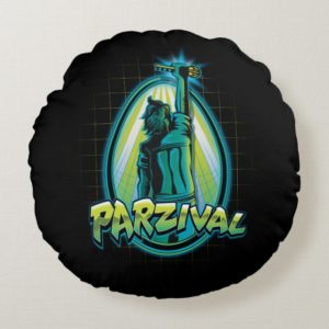 Ready Player One | Parzival With Key Round Pillow