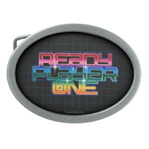 Ready Player One | Rainbow Logo Belt Buckle
