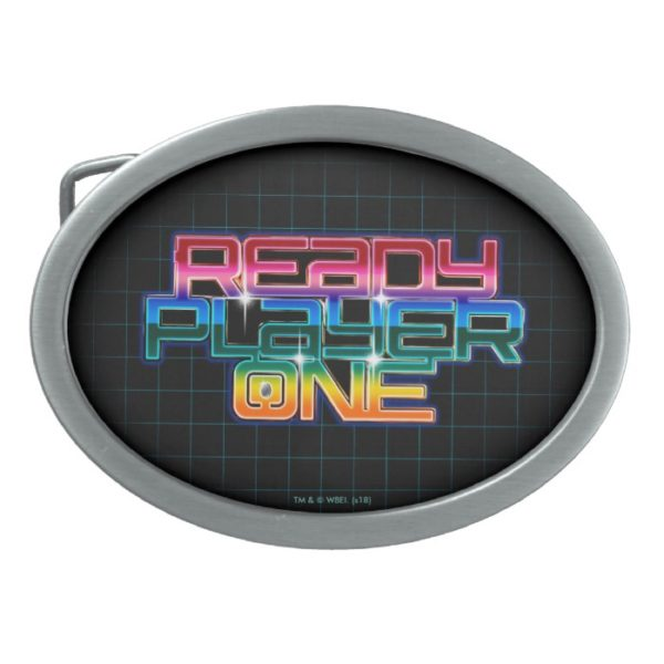 Ready Player One | Rainbow Logo Belt Buckle