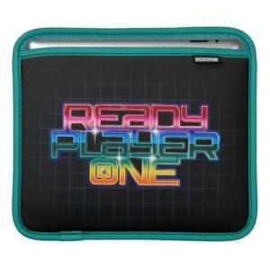 Ready Player One | Rainbow Logo iPad Sleeve