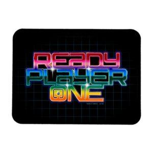 Ready Player One   Rainbow Logo Magnet