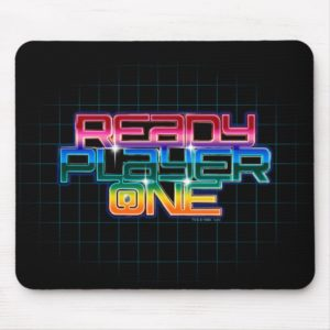 Ready Player One | Rainbow Logo Mouse Pad