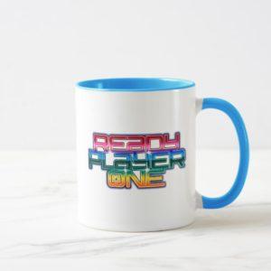 Ready Player One   Rainbow Logo Mug
