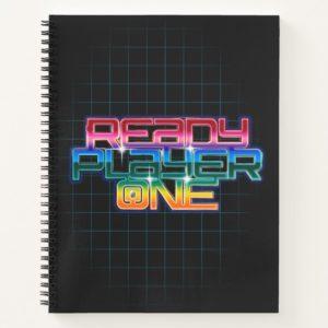 Ready Player One | Rainbow Logo Notebook